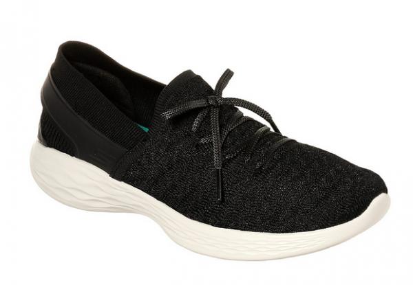 Skechers YOU - Beginning Damen Sneaker 14975 (Schwarz-BKW)