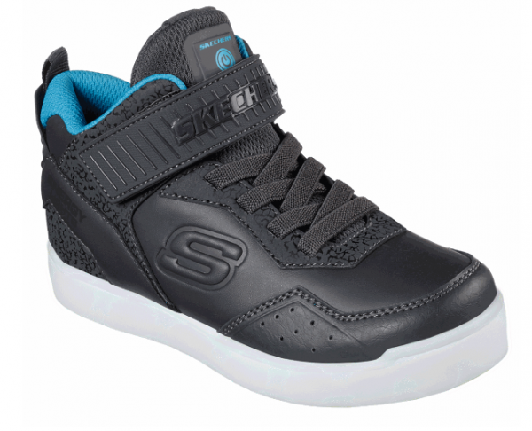 Skechers S Lights: Energy Lights – Merrox Kinder Sneaker (Grau-CCBL)