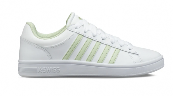 K-Swiss Court Winston Damen Sneaker 96154 (Weiß/Grün 180)