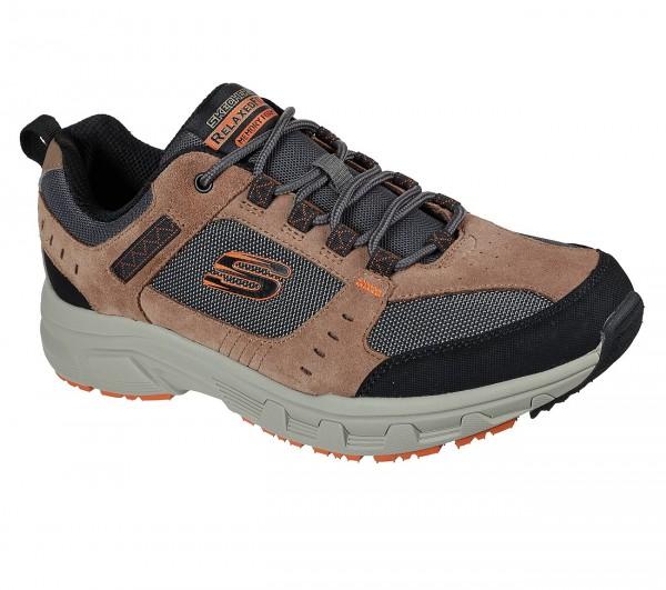 Skechers Relaxed Fit: Oak Canyon Herren Schuhe 51893 (Braun-BRBK)