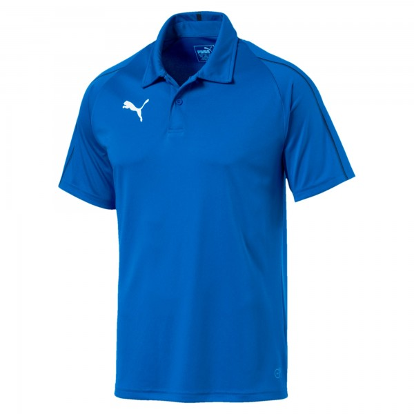Puma FINAL Sideline Herren Poloshirt 655291 (Blau 02)