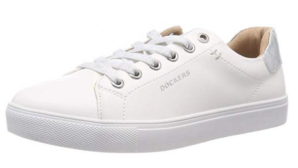 Dockers Damen Sneaker 44MA201-610 (Weiß 591)