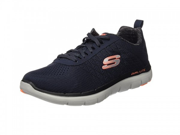 Skechers Flex Advantage 2.0 - The Happs Herren Sneaker 52185 (Blau-DKNV)