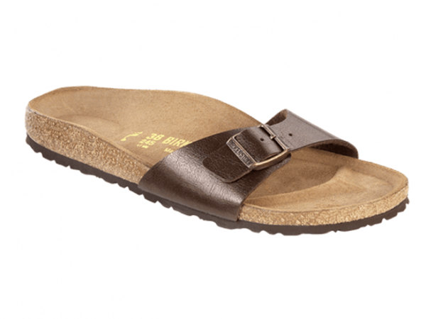 Birkenstock Madrid Damen Sandale schmal 239513 (Braun-Graceful/Toffee)