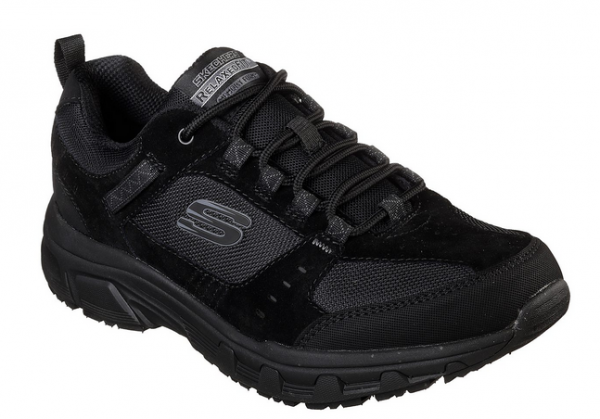 brand new 8a47a 567e5 Skechers Relaxed Fit: Oak Canyon Herren Schuhe (Schwarz-BBK)