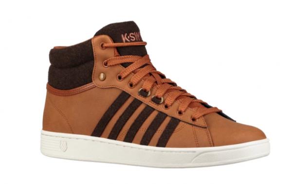 K-Swiss Hoke Mid CMF Herren Sneaker (Braun 287)