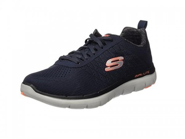 Skechers Flex Advantage 2.0 - The Happs Herren Sneaker 52185 (Blau-DKNV)