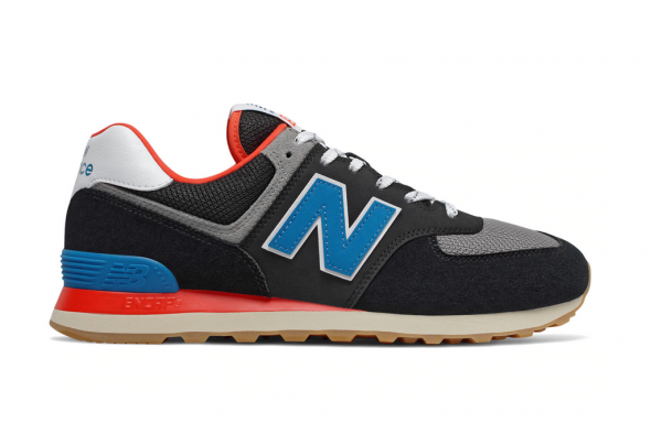 New Balance Herren Sneaker ML574SOV (Schwarz)