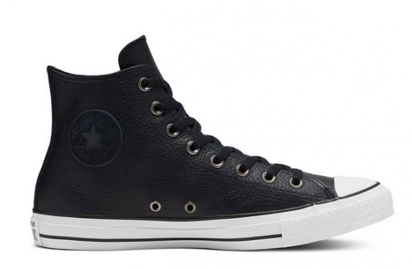 Converse Chucks Taylor All Star HI Leder Sneaker 165189C (Blau)