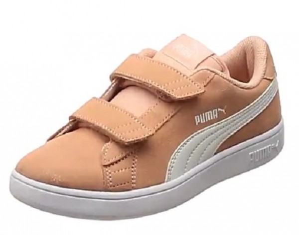 Puma Smash v2 SD V PS Kinder Sneaker 365177(Rosa 16)
