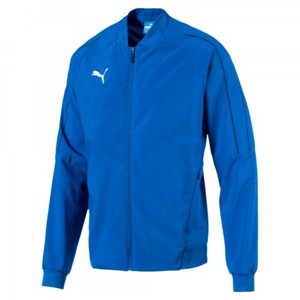 Puma FINAL Sideline Herren Trainingsjacke 655601 (Blau 02)