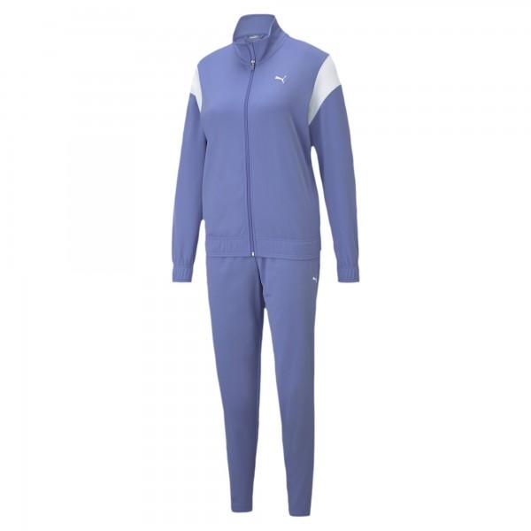 Puma Classic Tricot Damen Trainingsanzug 585962 (Blau 14)