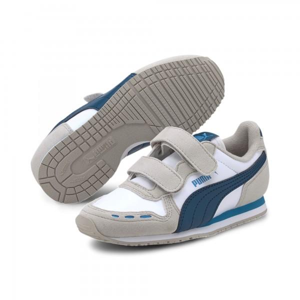 Puma Cabana Racer SL V PS Kinder Sneaker 360732 (Grau 85)