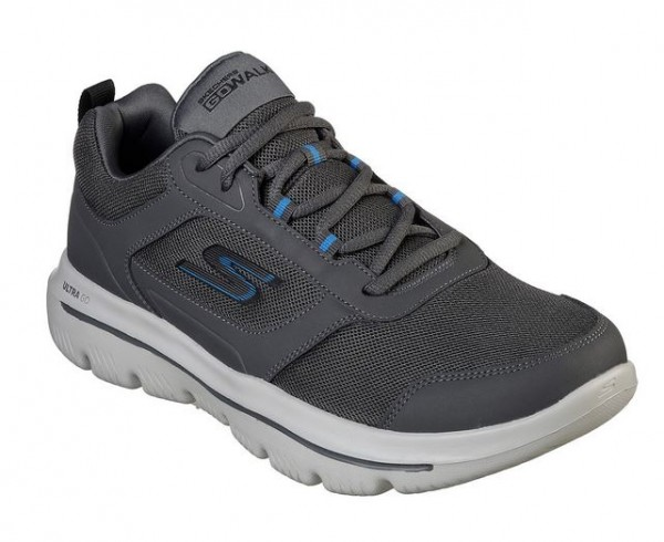 Skechers GoWalk Evolution Ultra - Enhance Herren Sneaker 54734 (Grau-CCBL)