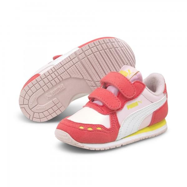 Puma Cabana Racer SL V Inf Kinder Sneaker 351980 (Rosa 91)