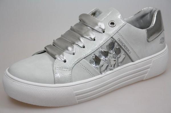 Dockers Damen Sneaker 42BM218-610 (Silber 550)