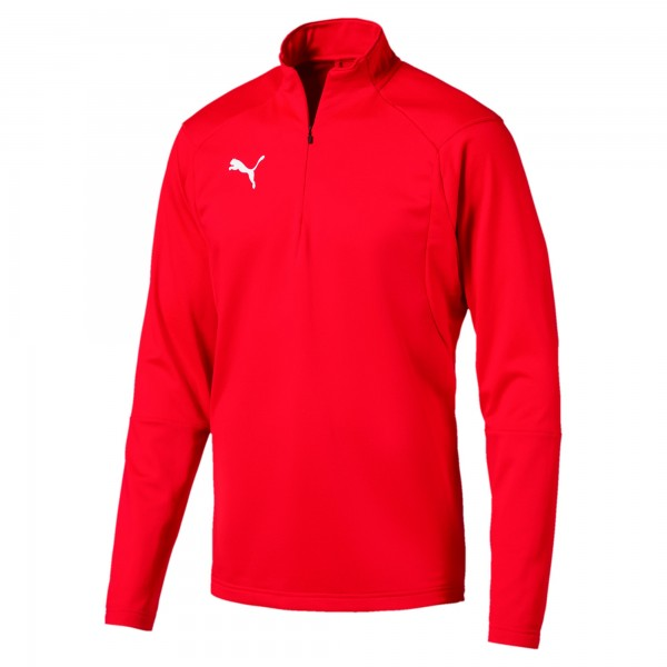 Puma LIGA Training 1/4 Zip Herren Shirt 655606 (Rot 01)