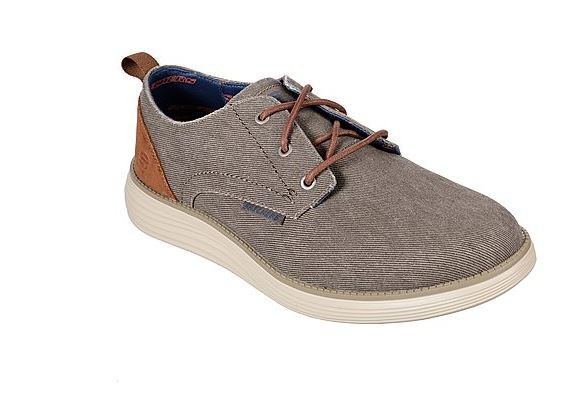 Skechers Status 2.0 - Pexton Herren Sneaker 65910 (Braun-TPE)