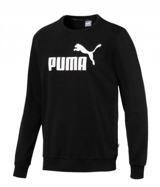 PUMA ESS Logo Crew Herren Sweat(schwarz 01)