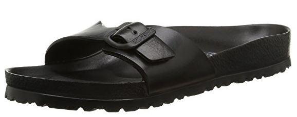 Birkenstock Madrid EVA schmal Damen Pantolette 128163 (black)