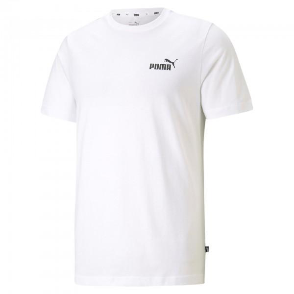 Puma ESS Small Logo Tee Herren T-Shirt 586668 (Weiß 02)