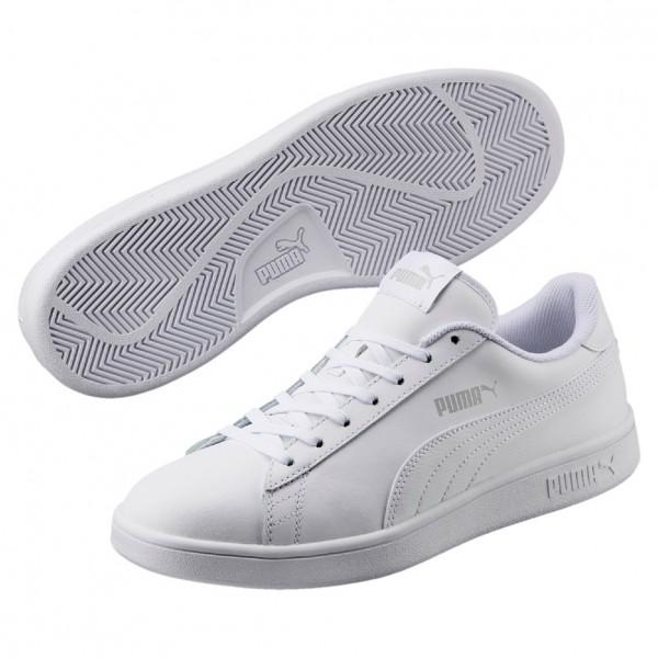 Puma Smash v2 L Herren Sneaker 365215 (white 07)