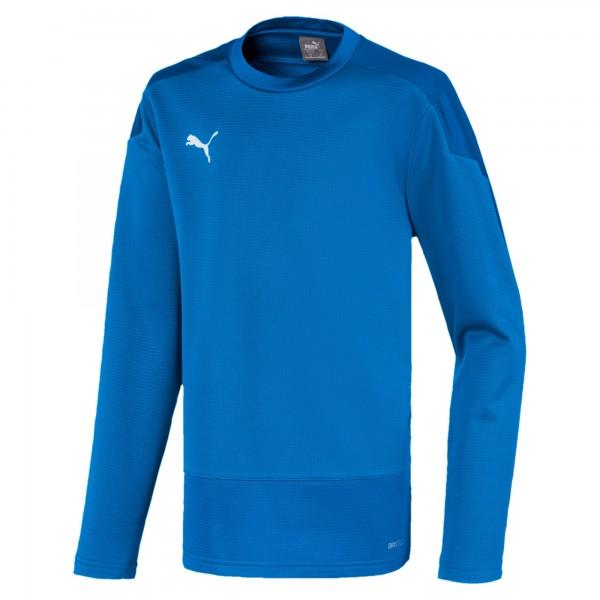 Puma TeamGOAL 23 Training Jr Kinder Sweatshirt 656568 (Blau 02)