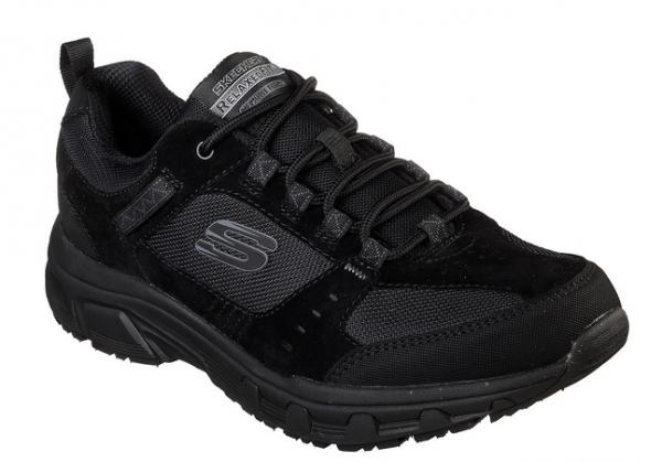 Skechers Relaxed Fit: Oak Canyon Herren Schuhe (Schwarz-BBK)