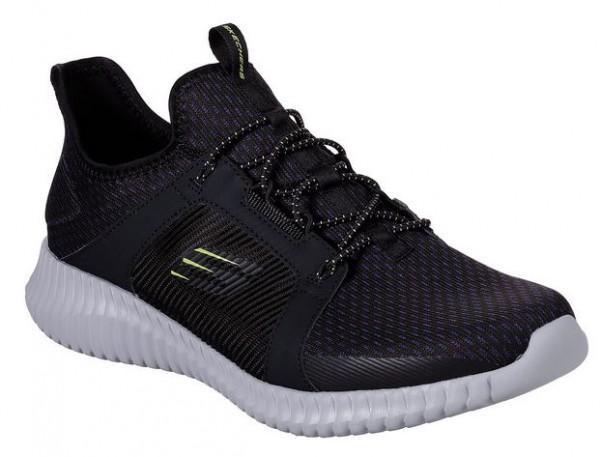 Skechers Elite Flex Herren Sneaker (Schwarz-BKGY)