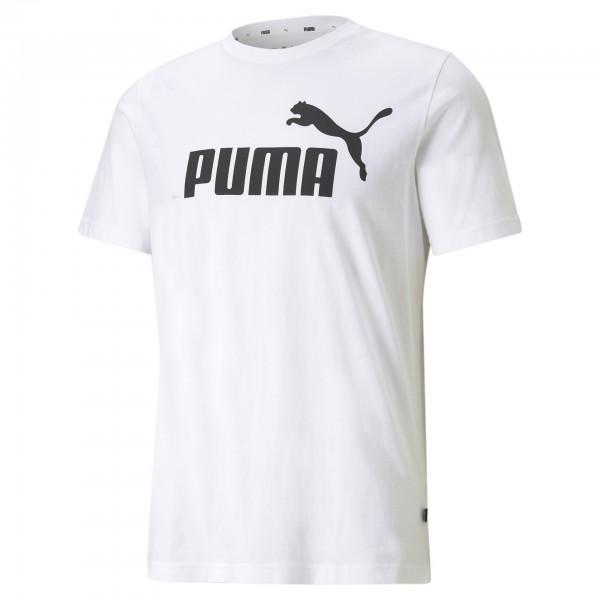 Puma ESS Logo Tee Herren T-Shirt 586666 (Weiß 02)