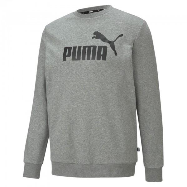 Puma ESS Big Logo Crew TR Herren Pullover 586680 (Grau 03)