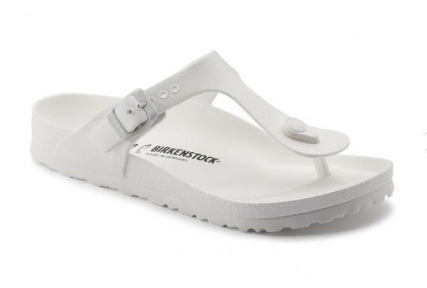 Birkenstock Gizeh EVA Damen Schuhe normal 128221 (Weiß)