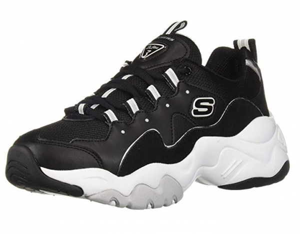 Skechers D'Lites 3 - Zenway Damen Sneaker 12955 (Schwarz-BKW)