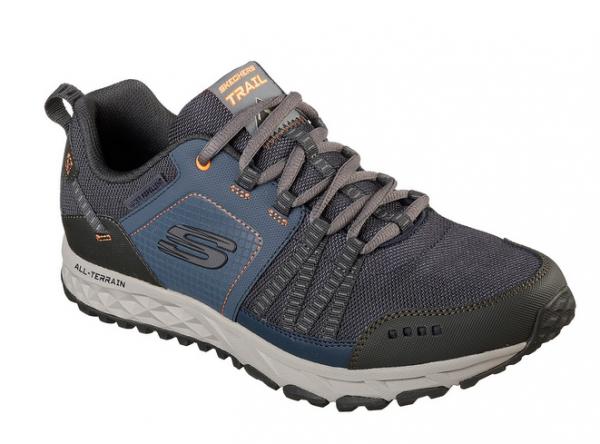 Skechers Escape Plan Herren Sneaker (Blau-NVOR)