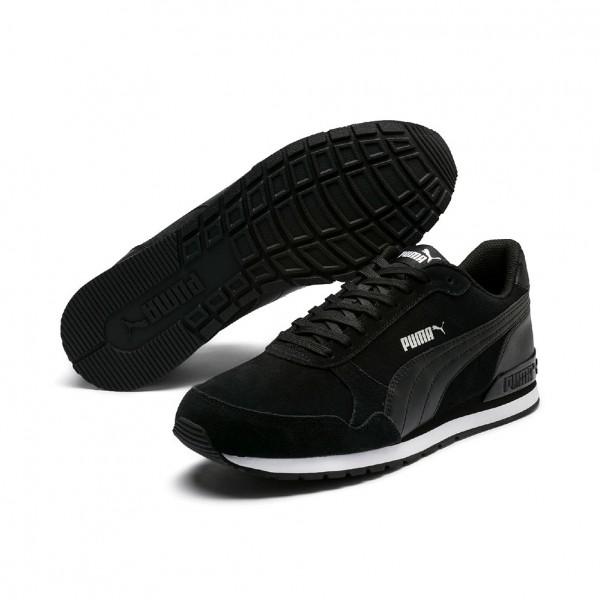 Puma ST Runner v2 SD Herren Sneaker 365279 (Schwarz 01)