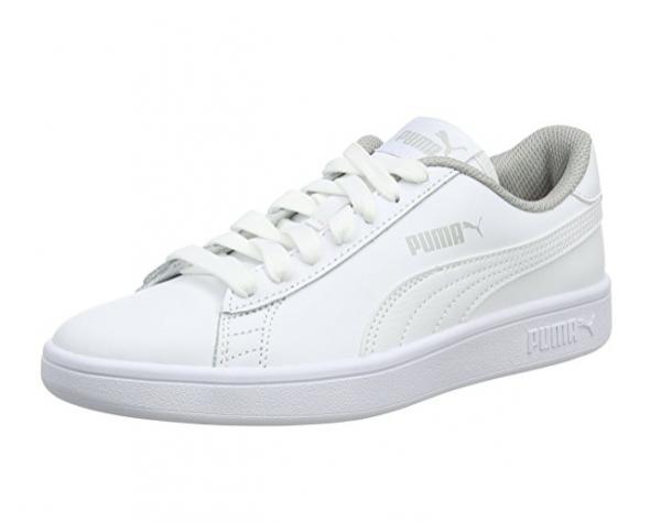 Puma Smash V2 L Jr Kinder Sneaker 365170 (white 02)