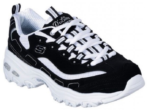 Skechers D'Lites Biggest Fan Sneaker I 11930 WBK | Zehenhaus rFpsQ