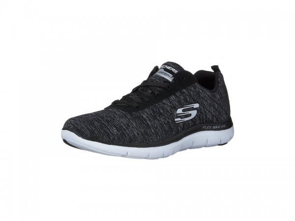 Skechers Flex Appeal 2.0 Damen Sneaker (Schwarz-BKW)
