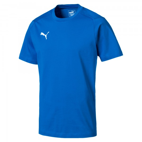 Puma LIGA Casuals Tee Herren T-Shirt 655311 (Blau 02)