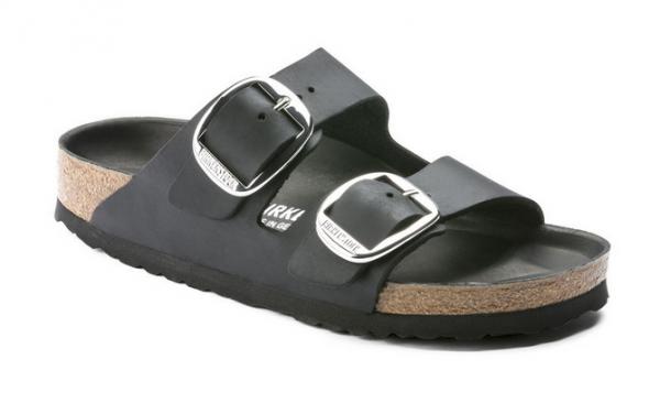 Birkenstock Arizona Big Buckle Damen Schuhe normal (Schwarz)