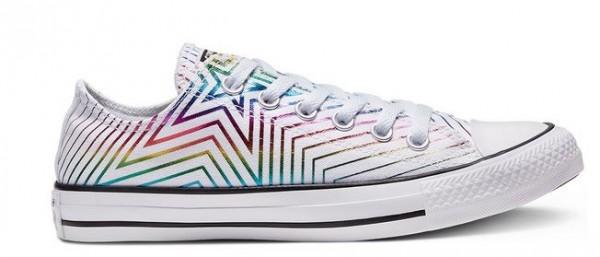 Converse Chucks Taylor All Star Exploding Star Low Damen Sneaker 565440 (Weiß)