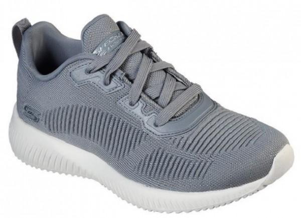 Skechers Bobs Sport Squad - Tough Talk Damen Sneaker 32504(Grau GRY)