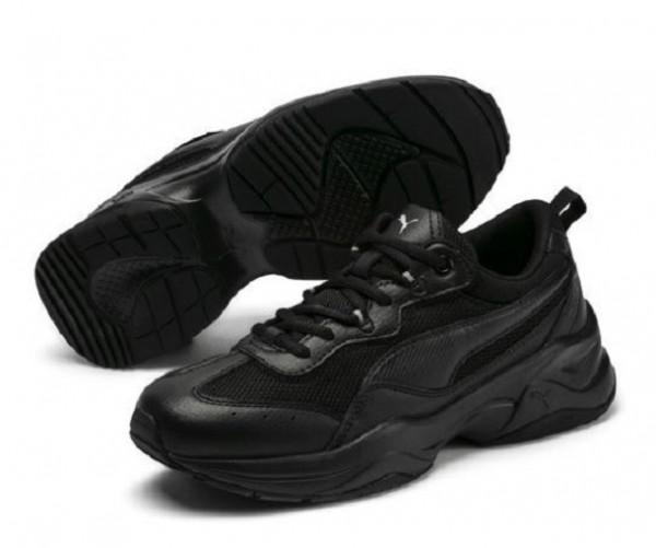 Puma Cilia Damen Sneaker (Schwarz 01)
