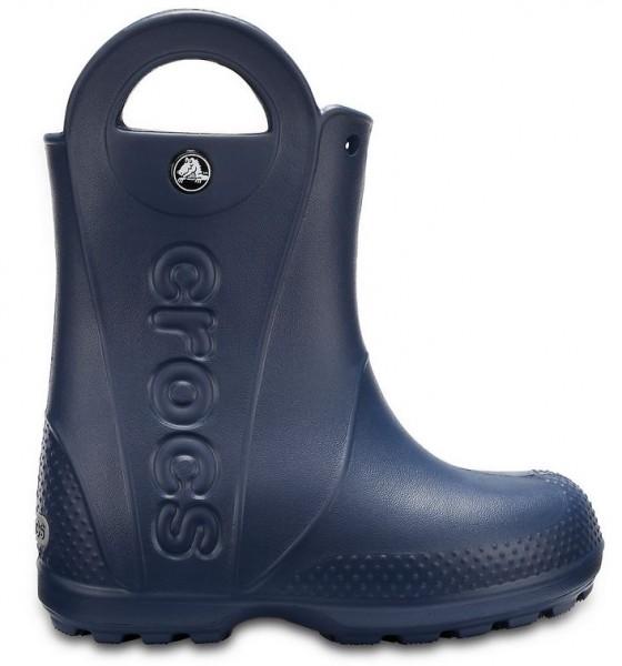 Crocs Kids Handle it Rain Boot (Navy)