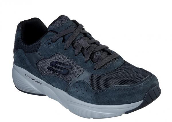 Skechers Meridian - Ostwall Herren Sneaker 52952 (Grau-CHAR)