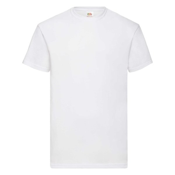 Fruit of the Loom Value-Weight Herren T-Shirt 5er Pack 61-036-0 (Weiß 30)
