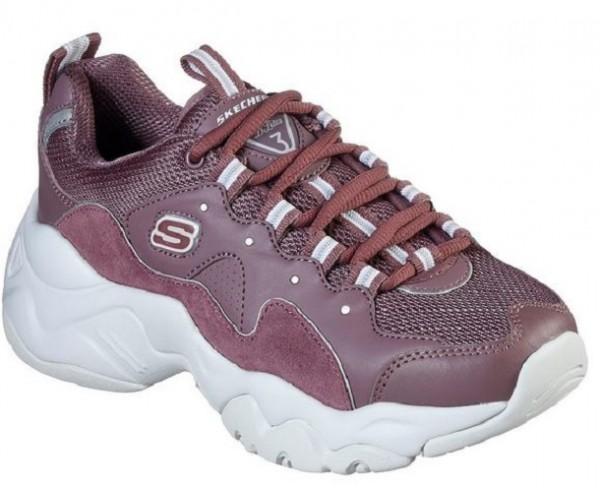 Skechers D'Lites 3 - Zenway Damen Sneaker (Violett-PUR)