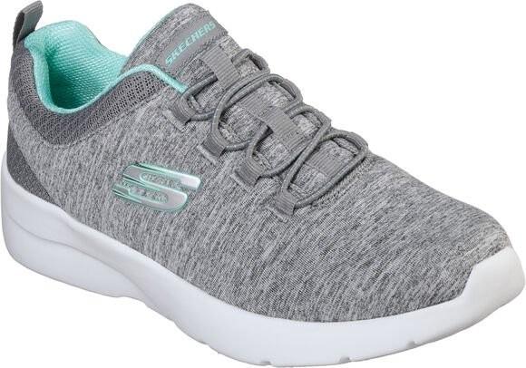 Skechers DYNAMIGHT 2.0 - IN A FLASH Damen Sneaker 12965 (Grau GYMN)