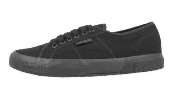 Superga 2750 Cotu Classic Damen Sneaker (Schwarz)