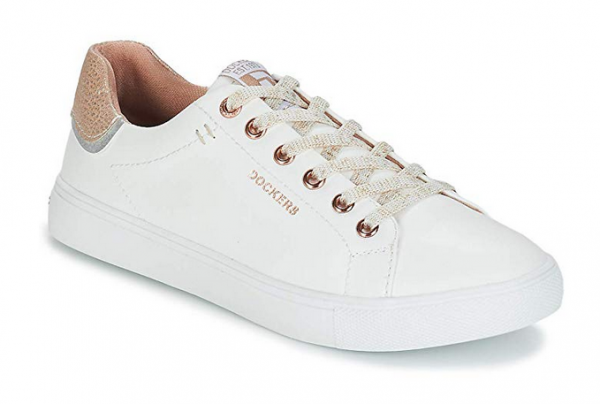Dockers Damen Sneaker 44MA201-610 (Weiß 592)
